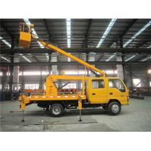 Vehículo montado trabajo aéreo camión elevador montado plataforma camión
