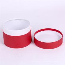 Boîte-cadeau ronde d'emballage de cylindre de carton