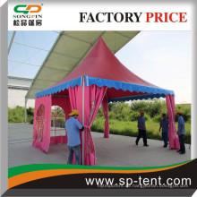 Maßgeschneiderte farbige Zelte und Zelte China Lieferanten für Ausland Offizielle Nutzung