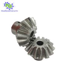 Fabricante de engrenagens cônicas zincadas / galvanizadas