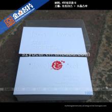 Modelo de design de cartão de nome em relevo em tela de seda