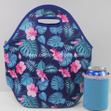 Portable Neoprene Lunch Tote Bag For Kids&Adults
