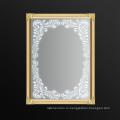 2016 Новый Прямоугольник Стиль Современный Арт-Рама Серебро Зеркало Стены Bathroom