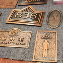 Customized High Quality Stainless Steel Etching Plaques
