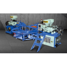 PVC Three Color Upper Sludge Molding Machine