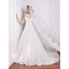 Sexy 3/4 Sleeves Wedding Dresses Turkey Istanbul