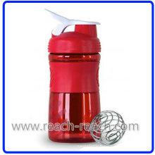 Bouteille 500ml en plastique protéine mélangeur Shaker (R-S081)