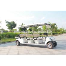 окружающей среды 8 мест электрический гольф-спортивный автомобиль мотора 4kw