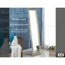 Высококачественное зеркало с деревянной текстурой