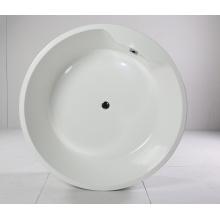 Bañera de acrílico redonda de interior