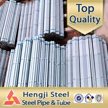 Galvanized welded ERW steel pipes