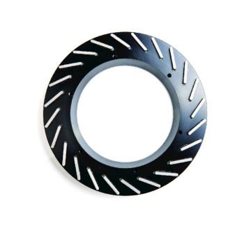 Ruedas abrasivas de diamante de molienda de uniones duras de metal