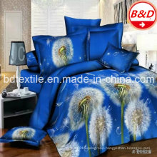 3D Printed Brushed Wide Width Polyester Microfiber Fabric for Bedsheets, Bed Cover and Mattress/Brushed Microfiber