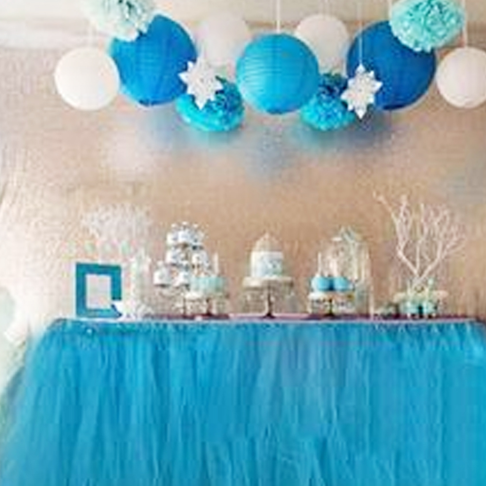 Table Skirt Baby Shower