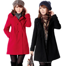 Women Winter Thick Warm Overcoat Fur Hooded Parka Coat (50029)