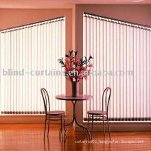 the new vertical blind and curtain