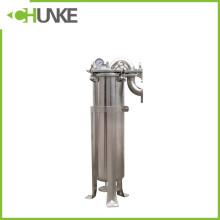 Boîtier de filtre à manches hygiénique liquide en acier inoxydable industriel à vendre