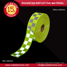 Reflective webbing reflective warning tape for clothing