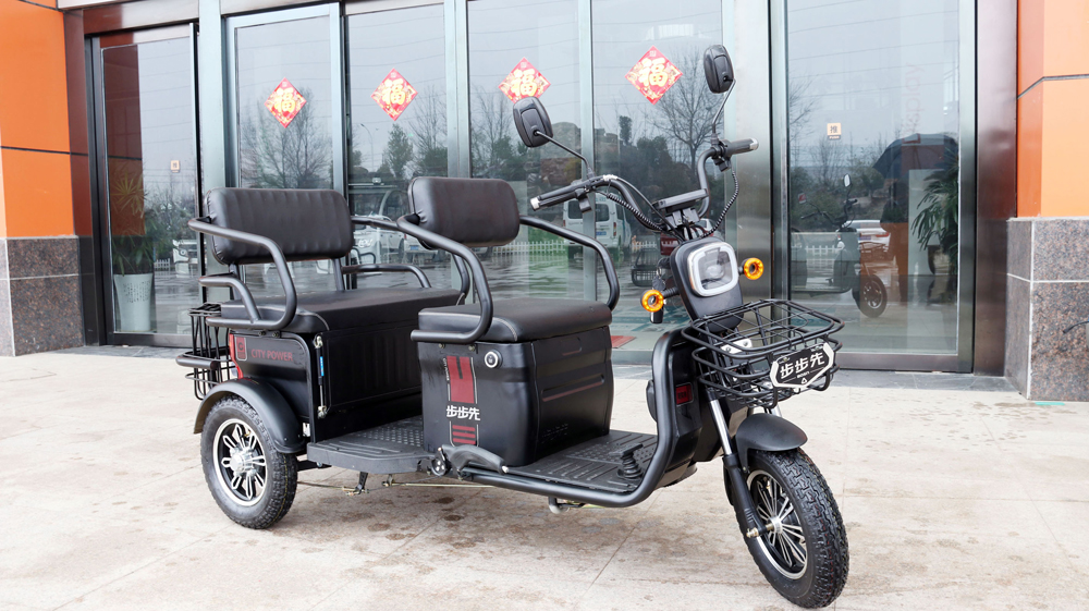 electric trike for 3 passengers