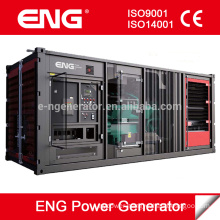 Chinese Low Price with Cummins diesel engine soundproof generator 600kw Electric Motor