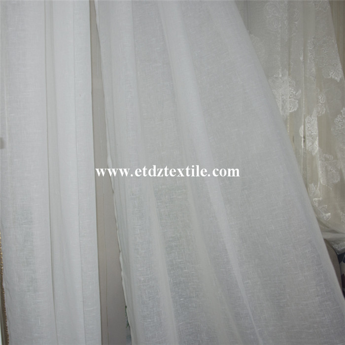 New Sheer Voile Curtain Fabric