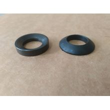 Black flat washer fasteners gasket