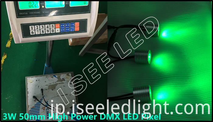 3W dmx led pixel packing net weight