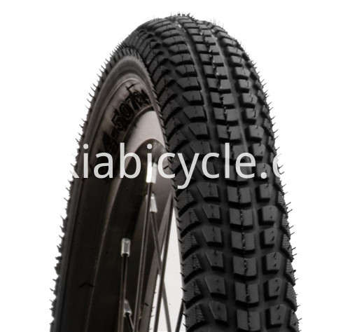MTB Ruber Bicycle Tire Black