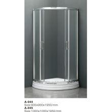 Puertas de ducha más populares de plástico con nuevo estilo