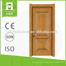 Porta interior da melamina da porta da placa da alta qualidade HDF de China