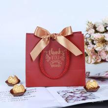 Small Gift Bags with Handles Gold Mini Gift Bag Birthday Weddings Christmas Holidays Kraft Paper bag