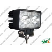 10-30V DC IP67 für Hochleistungs-Arbeitsscheinwerfer 20W LED-Arbeitsscheinwerfer Square Offroad CREE Fahrkopf-/Dachleuchten