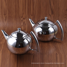 Tableware Stainless Steel Cold Brew Coffee Maker/Pure Silver Color Kettle Tea Pot