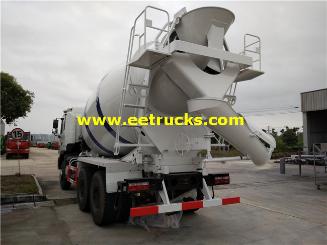 10 Wheel Concrete Mixing Trucks