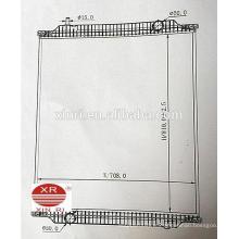 Радиатор для грузовых автомобилей с прямой подачей питания для MAN NG / MAN NL 81061016500 81061016501