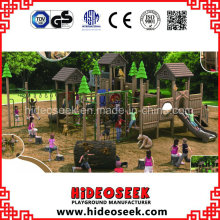ASTM Standard Wholesale Natural Wood Color Playground for Sale