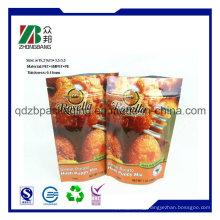Plastic Back Seal Packaging Bag for Potato Chips Snacks