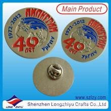 Benutzerdefinierte Metall Abzeichen, Runde Form Abzeichen, Gold Plated Abzeichen (lzy-1000077)