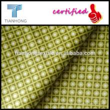 cinco cetim de lycra sarja de algodão cor tecido tecer tecido estampado fresco suave sentimento da mão para o vestido de vestuário