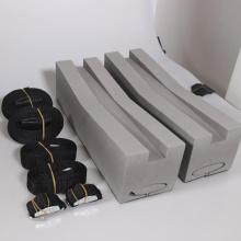 GIBBON - Portaequipajes de techo para canoa / kayak con bloque de espuma, corte universal