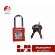 Wenzhou BAODI Steel Xenoy Safety Padlock Lock BDS-S8601F Красный