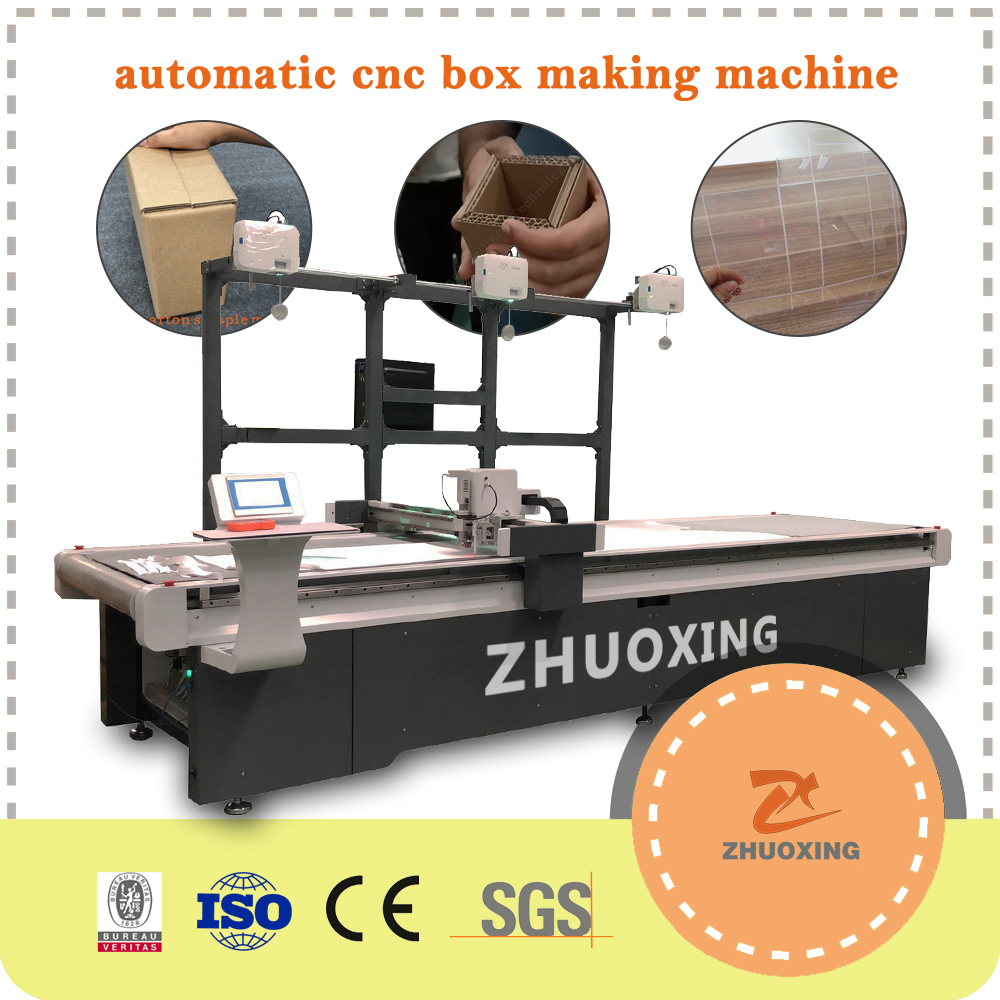 Grooving Machine for Box Making Grooves