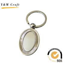Customized Oval Hot Sale Metal Key Ring Keychain (Y02339)