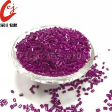 Purple Multicolour Masterbatch Granules