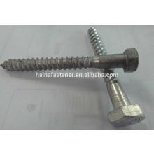 hot dig galvanized hex head Wood Screwd, HDG self tapping wood screw