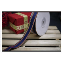 High Quality Custom Woven Ribbon Pink for Box Packaging