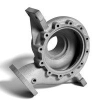 Peças de fundição de alumínio automotivo de processamento personalizado