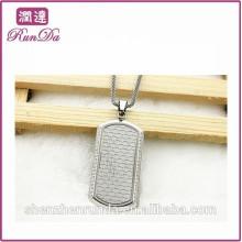 2014 wholesale alibaba rectangle necklace pendant