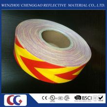 Fita de Material Refletor com Seta Amarela e Vermelha de Alta Qualidade para Animais de Estimação