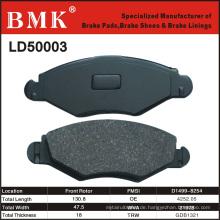 Hochwertige Bremsbeläge (LD50003) für französisches Auto
